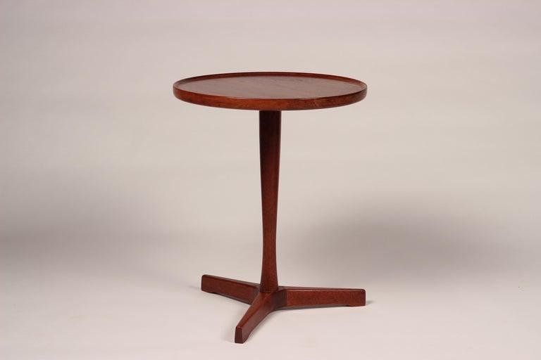 Midcentury Set of 4 Danish Teak Side Tables Designed by Hans C Andersen For Sale 4