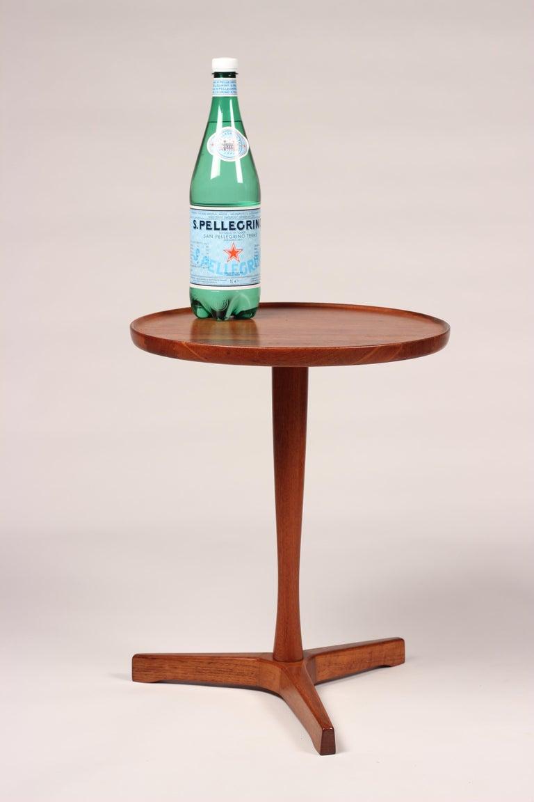 Midcentury Set of 4 Danish Teak Side Tables Designed by Hans C Andersen For Sale 5