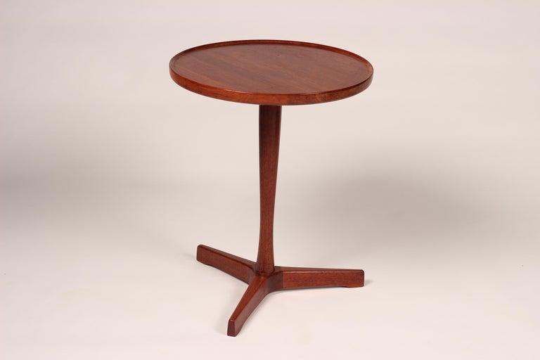 Midcentury Set of 4 Danish Teak Side Tables Designed by Hans C Andersen For Sale 6