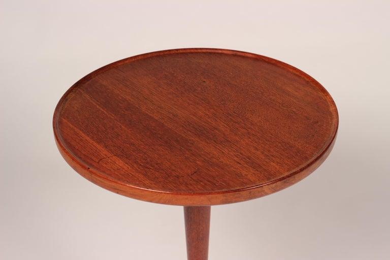 Midcentury Set of 4 Danish Teak Side Tables Designed by Hans C Andersen For Sale 7