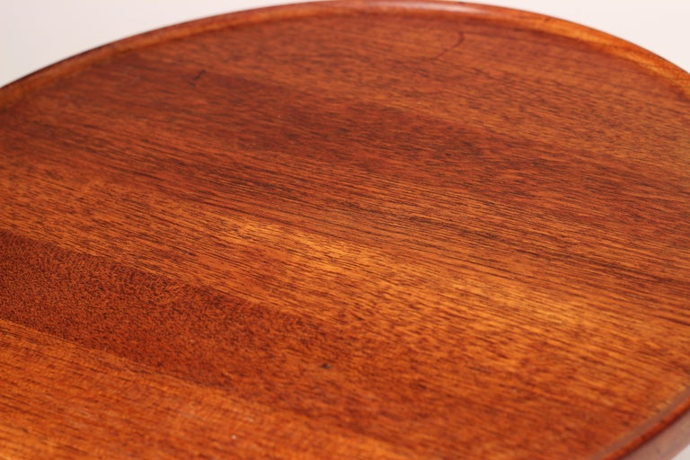 Midcentury Set of 4 Danish Teak Side Tables Designed by Hans C Andersen For Sale 10