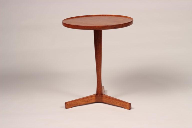 Midcentury Set of 4 Danish Teak Side Tables Designed by Hans C Andersen For Sale 13