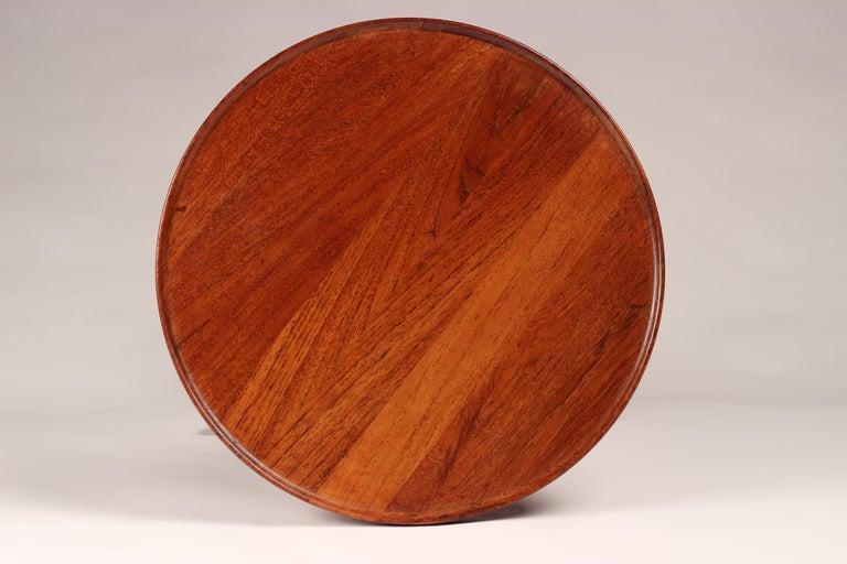 Scandinavian Modern Midcentury Set of 4 Danish Teak Side Tables Designed by Hans C Andersen For Sale