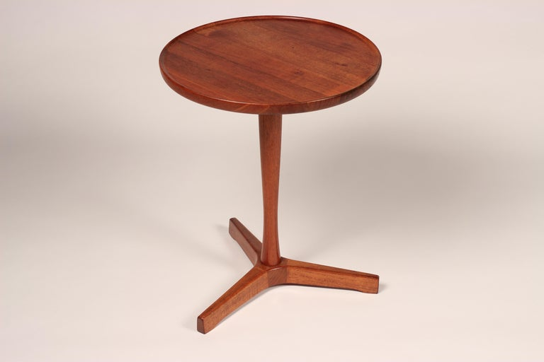 Mid-20th Century Midcentury Set of 4 Danish Teak Side Tables Designed by Hans C Andersen For Sale