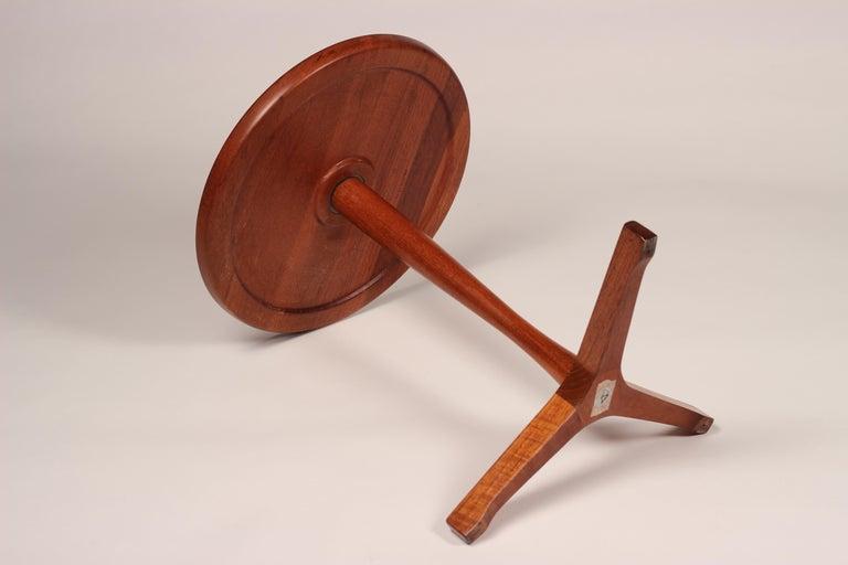 Midcentury Set of 4 Danish Teak Side Tables Designed by Hans C Andersen For Sale 1