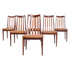Midcentury Set of 6 G-Plan Dining Chairs by Leslie Dandy