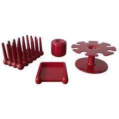 Midcentury Set of Office Accessories Helit Designed by Walter Zeischegg, 1970s