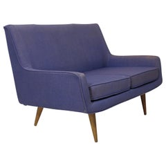 Mid-century Settee for COM Reupholstery