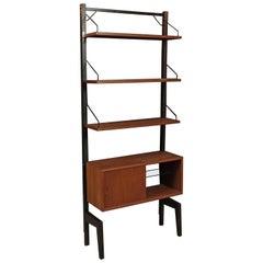 Midcentury Shelf Designed by Poul Cadovius, Denmark, circa 1960