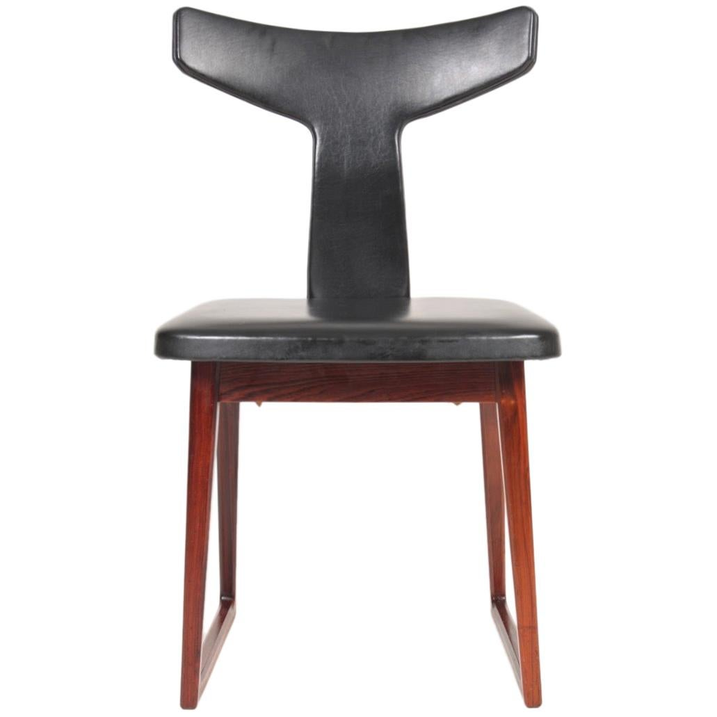 Midcentury Side Chair in Rosewood by Sibast, Danish Design, 1960s