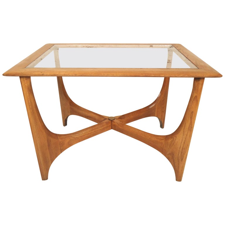 Midcentury Side Table by Lane For Sale