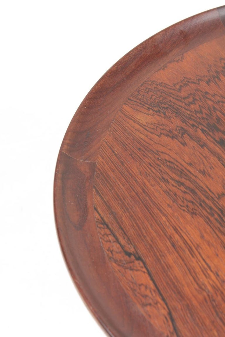 Mid-20th Century Midcentury Side Table in Rosewood, Danish Design, 1950s For Sale