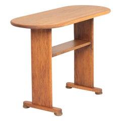 Midcentury Side Table in Solid Oak by Fritz Hansen, Danish Design, 1940s