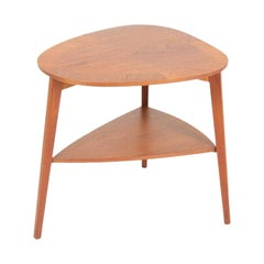 Midcentury Side Table in Teak, Made in Denmark, 1960s