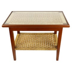 Midcentury Side Table in the Style of Clara Porset