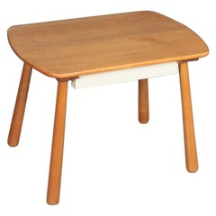 Midcentury Side Table in the Style of Phillip Achtander, Danish Modern, 1940s