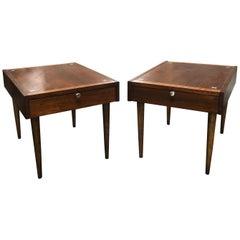 Midcentury Side Table Pair