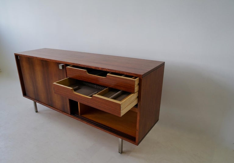 Midcentury Sideboard by Alfred Hendrickx for Belform, Belgium, 1960s For Sale 3