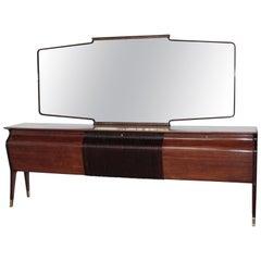 Midcentury Sideboard by Osvaldo Borsani for Arredamenti Varedo Borsani