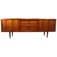 Midcentury Sideboard in Rosewood by Bramin