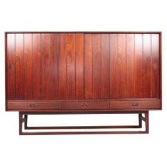 Midcentury Sideboard in Rosewood by Helge Sibast, Danish Design