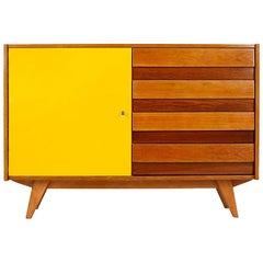 Midcentury Sideboard U 458 by Jiri Jiroutek for Interier Praha, 1960s