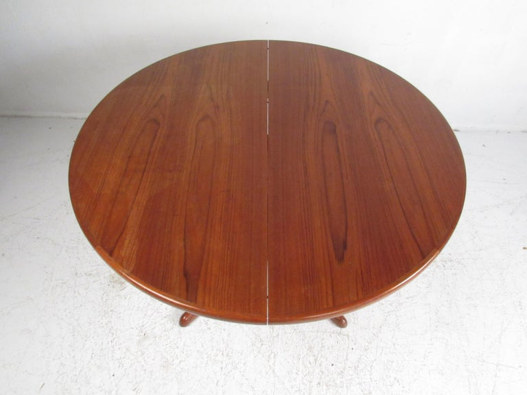 European Midcentury Skovby Mobelfabrik Dining Set For Sale