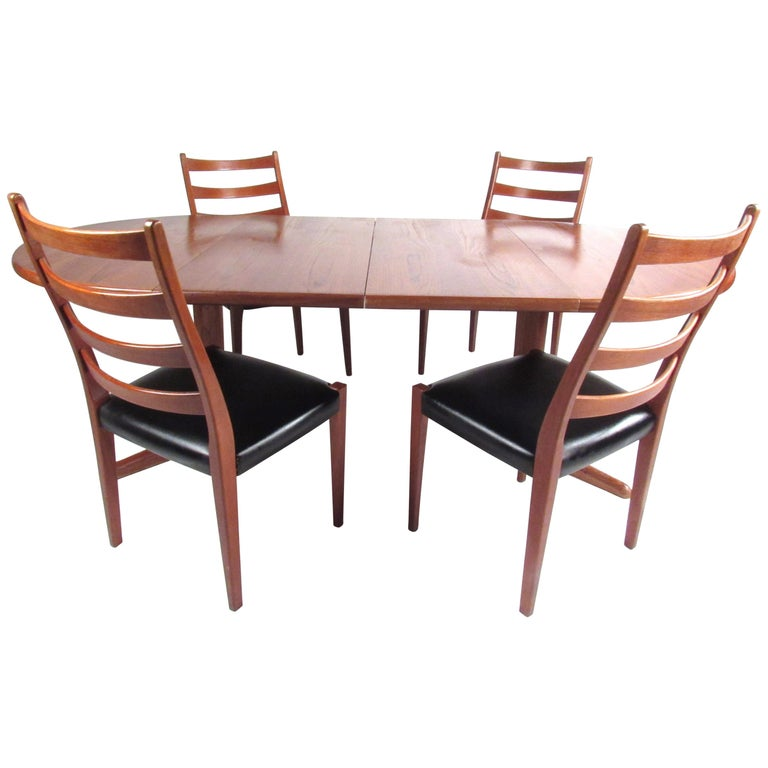 Midcentury Skovby Mobelfabrik Dining Set For Sale