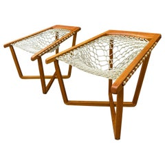 Midcentury Sling Chair Hammock Design