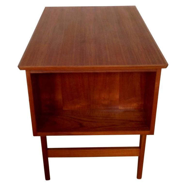 Midcentury Small Danish Teak Desk 3