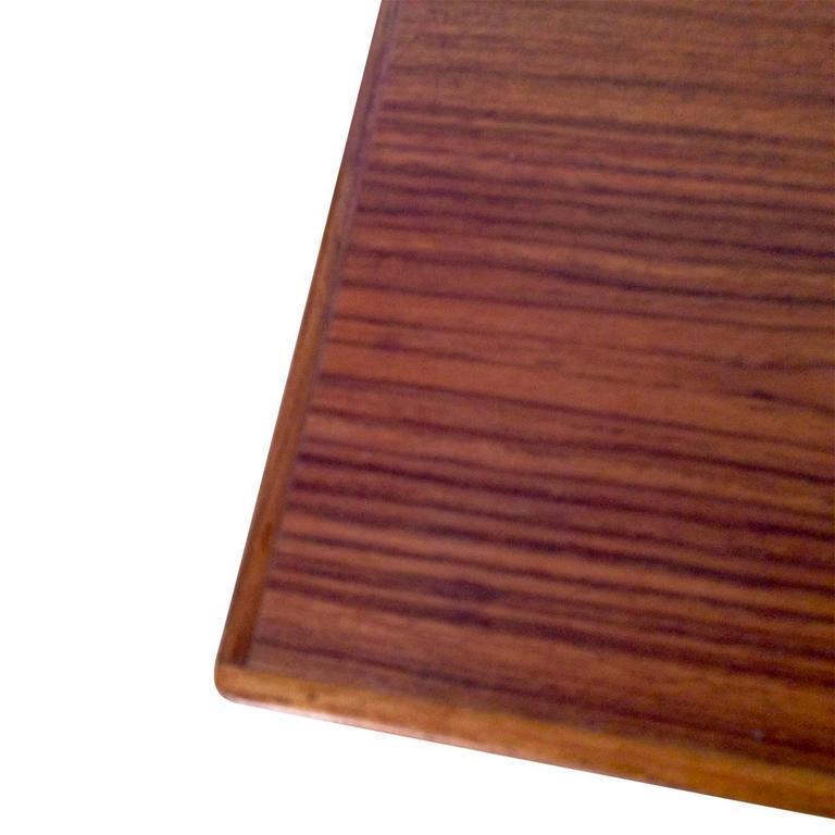 Midcentury Small Danish Teak Desk 4