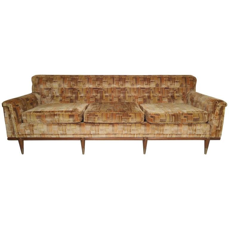 Midcentury Sofa by Widdicomb For Sale