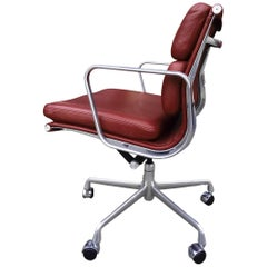 Midcentury Soft Pad Chair by Eames for Herman Miller