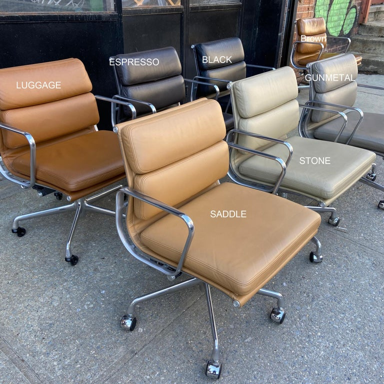 Midcentury Soft Pad Chairs by Eames for Herman Miller 5