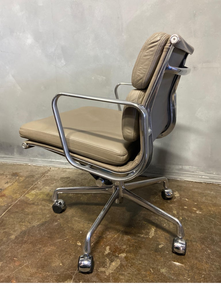 Mid-Century Modern Midcentury Soft Pad Chairs by Eames for Herman Miller