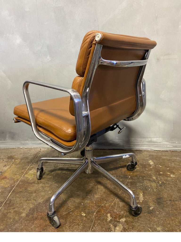 American Midcentury Soft Pad Chairs by Eames for Herman Miller