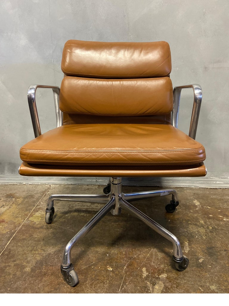20th Century Midcentury Soft Pad Chairs by Eames for Herman Miller