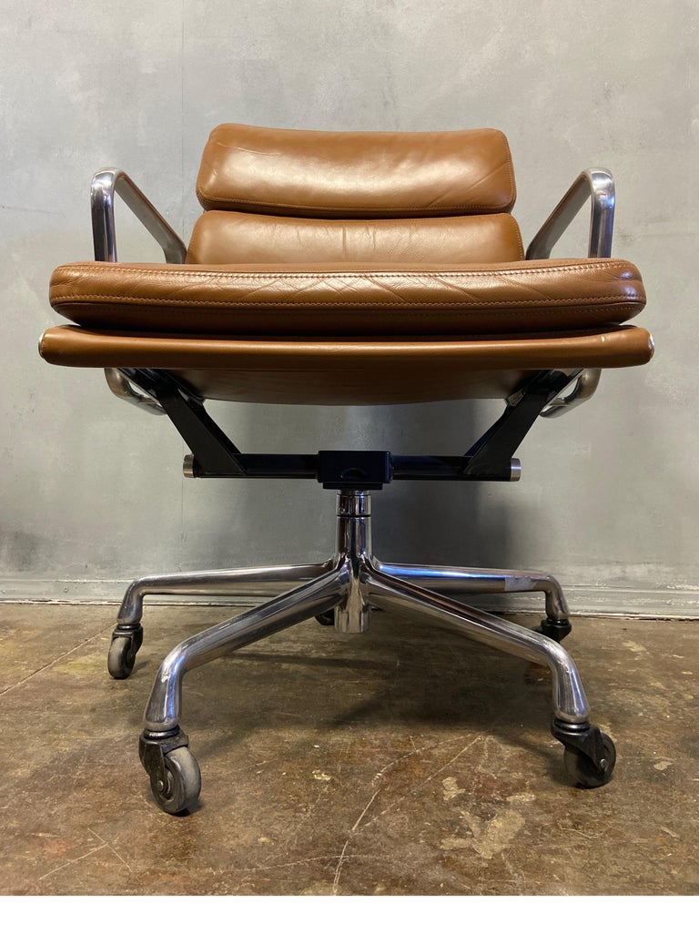 Midcentury Soft Pad Chairs by Eames for Herman Miller 1