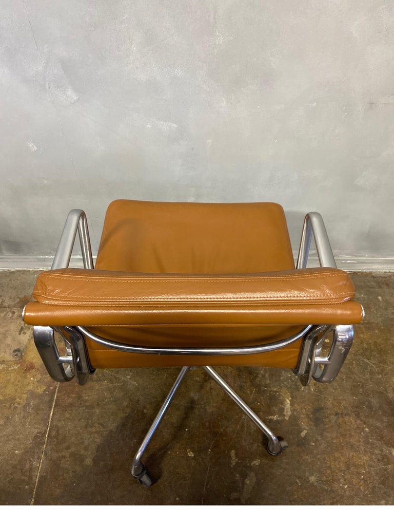 Midcentury Soft Pad Chairs by Eames for Herman Miller 2
