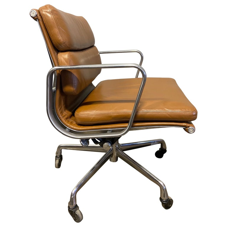 Midcentury Soft Pad Chairs by Eames for Herman Miller