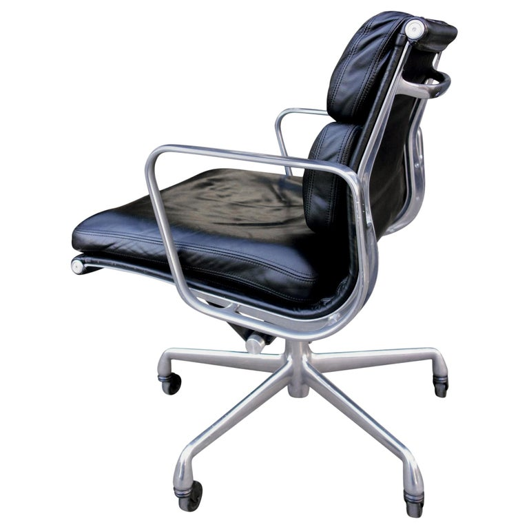 Midcentury Soft Pad Chairs by Eames for Herman Miller For Sale