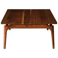 Mid Century Solid Walnut Coffee Table