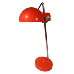 Midcentury Space Age Desk Table Lamp Lightolier, Japan, circa 1965