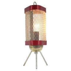 """Midcentury Space Age Table Lamp """"Rocket"""" / 1960s"""