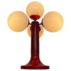 Midcentury Space Age Table Lamp, Sputnik or Atom, 1970s
