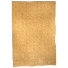 Midcentury Spanish Handmade Wool Rug