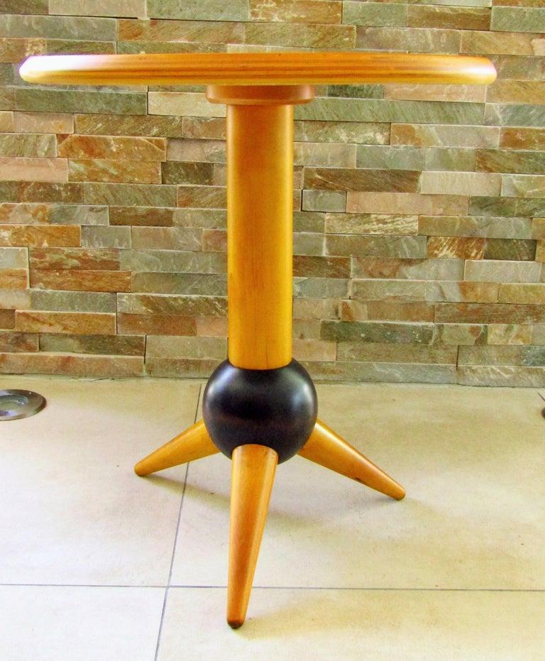 Midcentury Sputnik Sidetable, France, 1960s For Sale 5