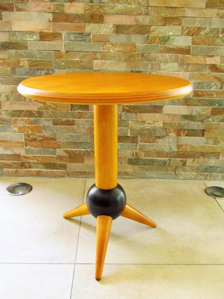 Midcentury Sputnik Sidetable, France, 1960s For Sale 6