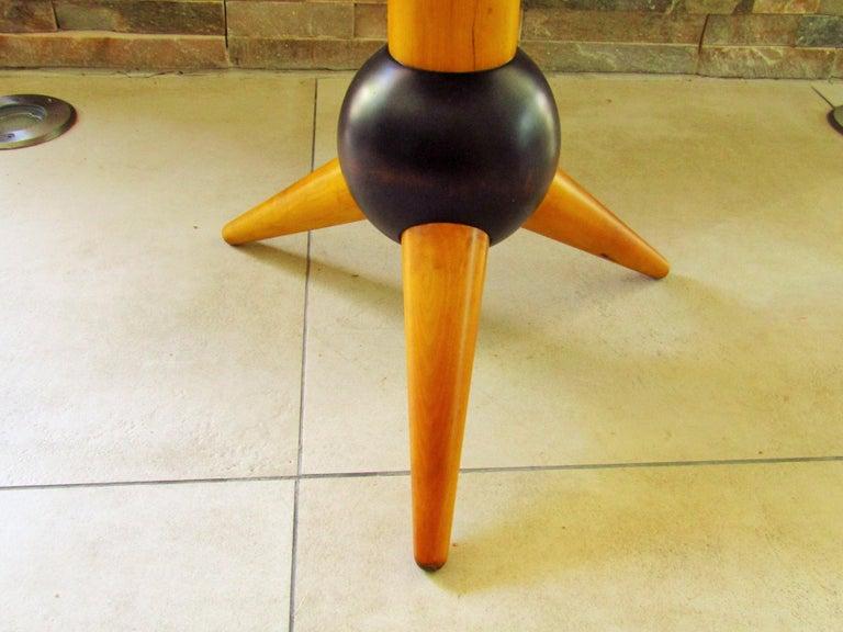 Midcentury Sputnik Sidetable, France, 1960s For Sale 8