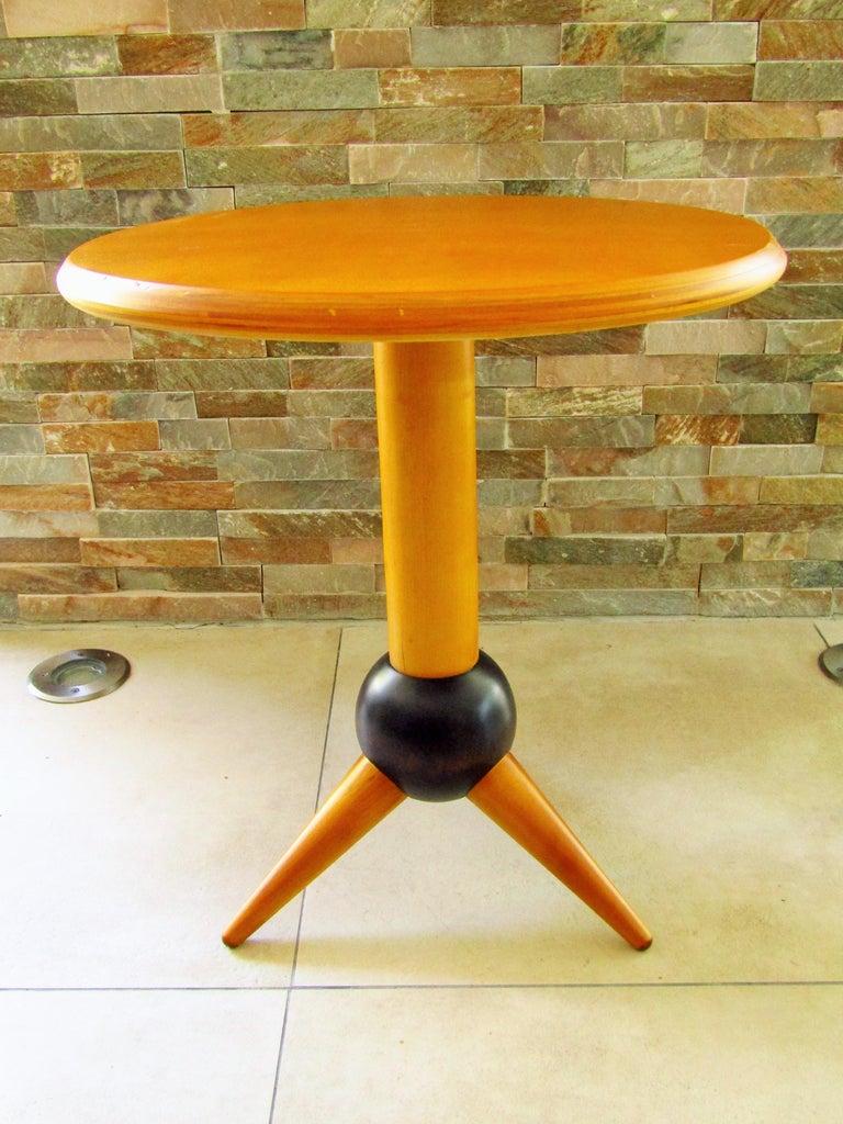 Midcentury Sputnik Sidetable, France, 1960s For Sale 9